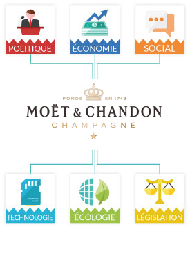 PESTEL Moët & Chandon