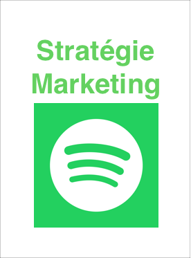 Strat�gie Marketing de Spotify