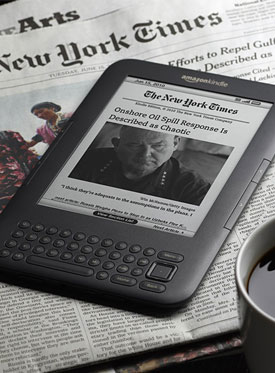 le Kindle : nouveau ph�nom�ne