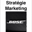 Stratégie Marketing de Bose