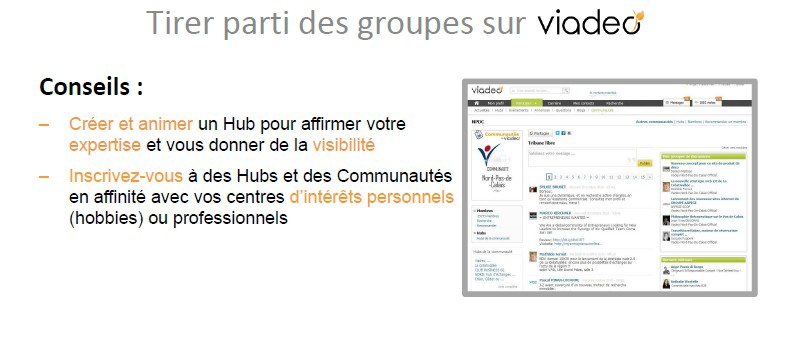 groupe viadeo marketing
