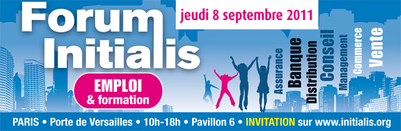 Forum Initialis le 8 septembre à Paris