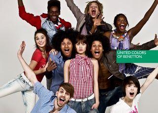 Girar en descubierto virtual pala  United Colors of Benetton : Marketing social