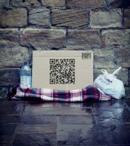 Campagne Sans abris QR Code