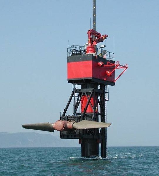 Système Hydrolien SeaFlow - Grande Bretagne
