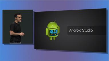 Aperçu Android Studio - Conférence I/O Google