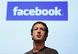Photo Mark Zuckerberg - Facebook