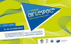 Forum Air & Espace, Salon du Bourget
