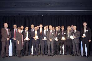 Lauréats Prix des Ingénieurs de l'Année 2011