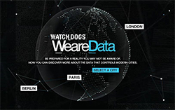 Site promotion Watch Dogs - WeareData