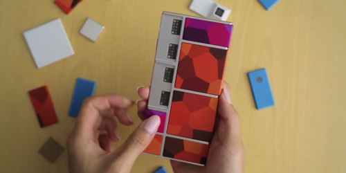 Le smartphone en kit de Google Project Ara en images