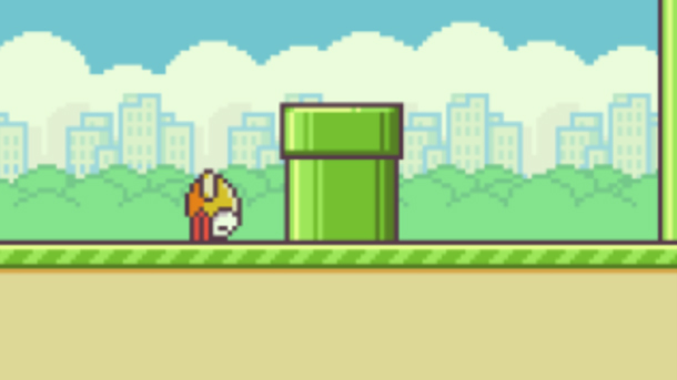 Flappy Bird s'écrase en plein vol