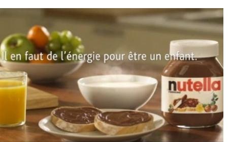 Petit-déjeuner Nutella