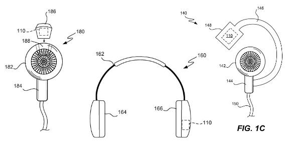 Schémas du brevet déposé par Apple