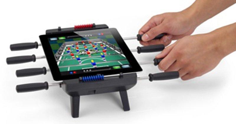 Accessoire Apple : support de babyfoot pour iPad