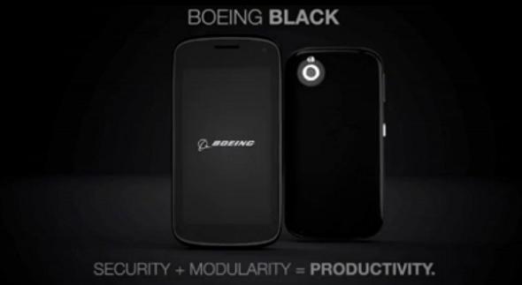 Black, le smartphone ultra-sécurisé de Boeing