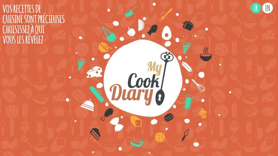 My Cook Diary, réseau social cuisine