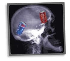 Expérience neuromarketing Coca Cola et Pepsi