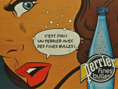 Affiche Perrier
