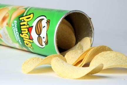 Boîte de Pringles Sour Cream & Onion