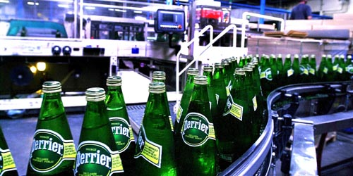 Usine d'embouteillage Perrier
