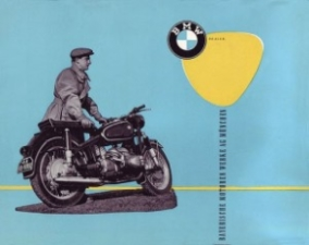 Affiche BMW old school