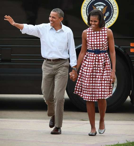 Michelle Obama en robe Asos