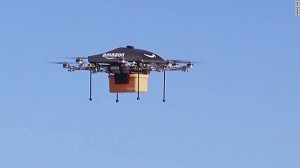 amazon teste la livraison des colis par des drones. Black Bedroom Furniture Sets. Home Design Ideas
