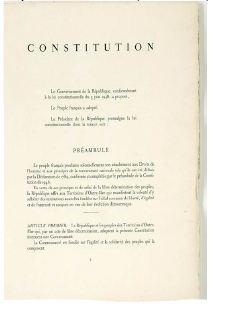 Image de la constitution