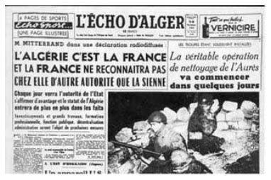 Journal L'écho d'Alger