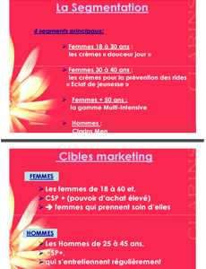 marketing clarins