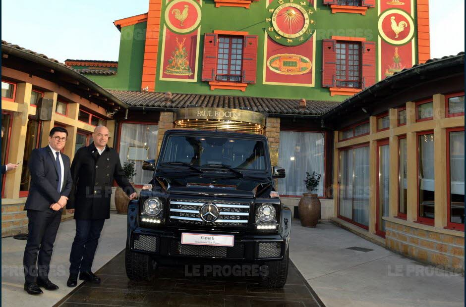 mercedes benz classe G paul bocuse